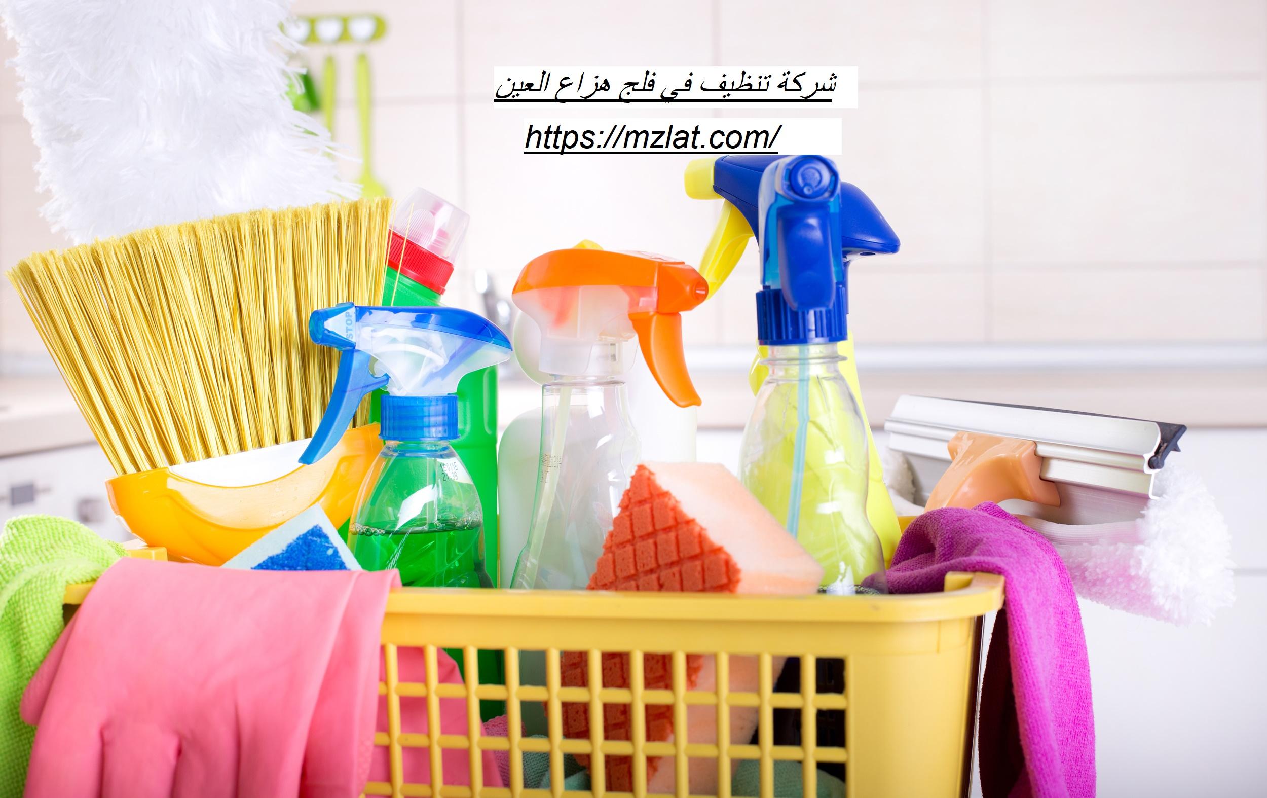 شركة تنظيف في فلج هزاع العين